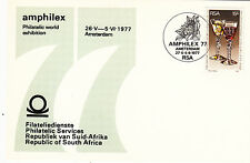 (36942) South Africa Cover Amphilex Amsterdam 27 May 1977