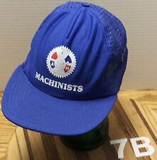 VINTAGE INTERNATIONAL ASSOCIATION OF MACHINISTS & AEROSPACE WORKERS HAT UNION GC