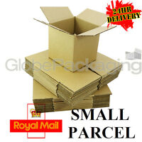 "CARDBOARD POSTAL A4 BOXES 12x9x6"" - ROYAL MAIL SMALL PARCEL COMPLIANT *24HR DEL*"