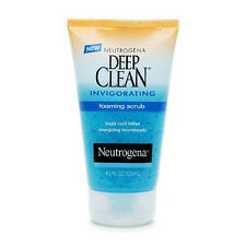 Neutrogena Deep Clean Invigorating Foaming Scrub 4.2 fl oz Face Skin