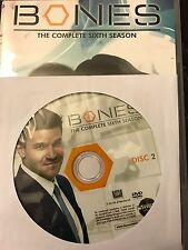 Bones – Season 6, Disc 2 REPLACEMENT DISC (not full season)