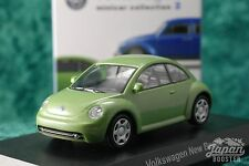 [KYOSHO 1/64] Volkswagen New Beetle Green Minicar Collection 2