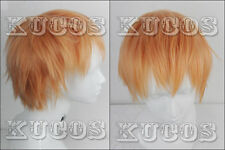 693 Dramatical Murder DMMd Noiz Short Blond Layered Cosplay wig