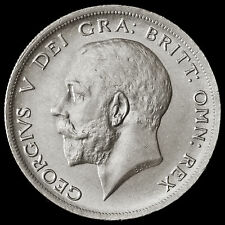 1920 George V Silver Half Crown – Scarce – UNC