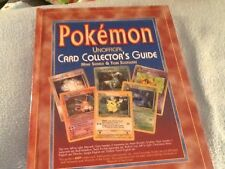Pokemon Unofficial Card Collector's Guide Hardcover  2000