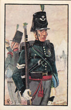 Hannover Deutsche Legion Sergeant Deutsches Heer Germany Uniform IMAGE CARD 30s