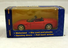 Maisto Road & Track Power Racer Corvette Convertible Red 1:43 Diecast Car NEW*