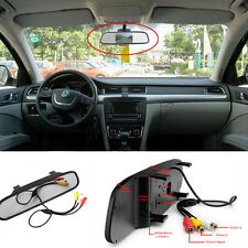 """Car SUV 4.3""""TFT Color LCD Monitor Reverse Parking Camera Rearview Screen Display"""
