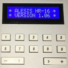 ALESIS HR-16 HR-16B & MMT-8 LCD DISPLAY - REPLACEMENT SCREEN - BLUE