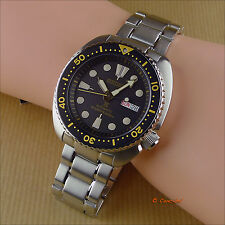 New Seiko Prospex Turtle SRP775K1 SRP775 Automatic Cal. 4R36 Air Divers 200M W.R
