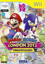 Mario and Sonic at The London 2012 Olympic Games Wii NEW and Sealed