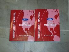 2011 Ford Mustang Shop Service Repair Manual GT Convertible Shelby GT500 3.7 5.0