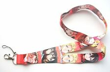 Attack on Titan Characters Fabric Keychain Lanyard #1