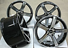 "20"" CRUIZE BLADE ALLOY WHEELS CONCAVE 5 SPOKE BLACK & POLISHED 20 INCH ALLOYS"