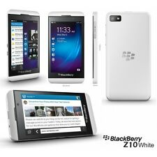 Blackberry Z10 WHITE | 1.5GHz Dual Core | 2MP + 8 MP | 2GB + 16GB | 3G