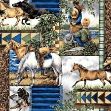 """2 yards of   """"Point of View"""" Southwestern Allover  Fabric"""