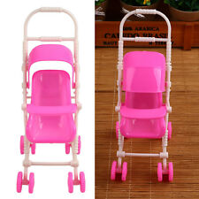 Baby Kids Stroller Trolley Nursery Furniture Toy For Barbie Doll Gifts