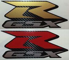Suzuki Motorsport Aufkleber Emblem GSX R 600 750 1000 Carbon Folie