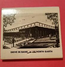 """RARE Vintage """"FIRST NATIONAL BANK"""" COLUMBIA, MO * MATCH BOOK ADVERTISING"""