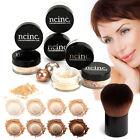 Bare Naked Skin Mineral Makeup Set NCinc Minerals Foundation + Kabuki Brush 8pc