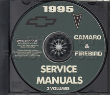 1995 Camaro Trans Am Firebird Shop Manual CD Chevy Z28 Pontiac Service Repair
