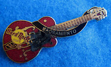 SACRAMENTO CHET ATKINS COCHRAN HOLLOW BODY RED GRETSCH GUITAR Hard Rock Cafe PIN