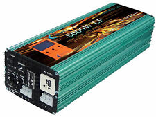 8000W LF SPLIT PHASE PURE SINE POWER INVERTER DC24V/AC110V&220V 60HZ/Charger/LCD