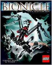 (Instructions) for LEGO Set 8621 Bionicle: Turaga Dume & Niva - Manual ONLY