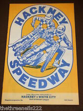 SPEEDWAY - HACKNEY V WHITE CITY - MARCH 24 1978