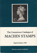 The Connoisseur Catalogue of Machin Stamps, 8th Edition, byJames Negus. Used.