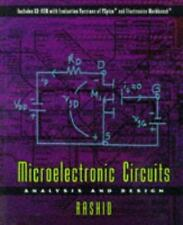 Microelectronic Circuits : Analysis and Design by Muhammad H. Rashid (1998,...