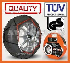 """Car Tyre 9mm TUV Approved N80 Snow Chains 14,15,16 &17"""""""
