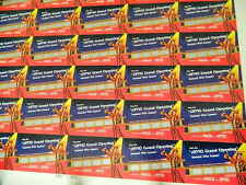 """AMC THEATRES GRAND OPENING INSTANT WIN GAME - 25"""" x 38"""" UNCUT SHEET FROM 1998"""