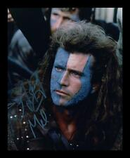 MEL GIBSON - BRAVEHEART AUTOGRAPHED SIGNED & FRAMED PP POSTER PHOTO