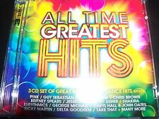 All Time Greatest Hits Various 3 CD Pink Avril lavigne Shakira Britney Spears Us