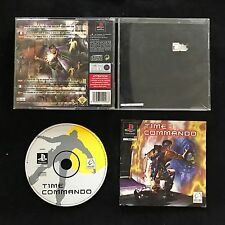 Ps1 Time Commando OVP Sony PlayStation #ps1#00488