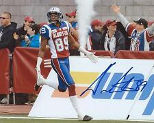 Duron Carter Signed 8x10 Photo Montreal Alouettes Autographed COA