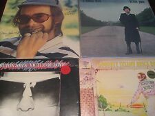 ELTON JOHN MCA RECORDS 1970'S RELEASES WESTIES SINGLE VICTIM+YELLOW BRICK + 45S
