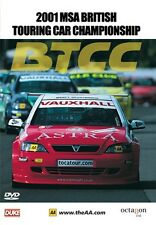 BTCC British Touring Car Championship - Official Review 2001 (New DVD)