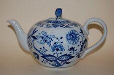 Teekanne Maria Theresia Zwiebelmuster Hutschenreuther