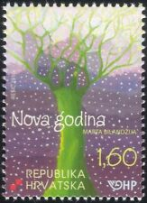 Croatia 2010 New Year Greetings/Trees/Forest/Plants/Nature/Art/Artists 1v n44798