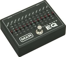 NEW DUNLOP MXR M-108 10 BAND EQ PEDAL $0 US SHIPPING