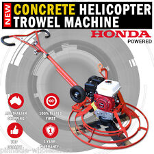 NEW Honda Powered Concrete Helicopter Power Trowel Machine Finishing Screed 36""