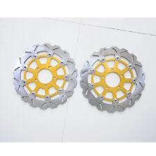 CockFront Brake Disc Rotor For Suzuki GSXR600 GSXR750 K4/K5 GSXR1000 K3/K4 Pair