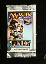 1 Prophecy Booster Pack - Sealed English from Box MtG Magic Rare