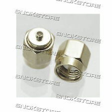ADATTATORE CONNETTORE ADAPTER CONNECTOR SMA-IPX PLUG MALE STRAIGHT SMA TO IPX