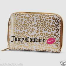 NEW! Juicy Couture Chic Gold Makeup Brushes & Travel Case Set - Limited Edition