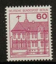 GERMANY SGB521a 1977 GERMAN CASTLES 60pf RED MNH