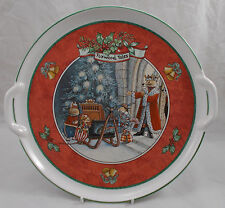 Villeroy & and Boch CHRISTMAS AT FOXWOOD TALES tray with handles 32cm
