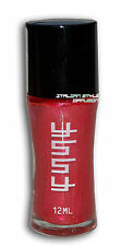 SMALTO PER UNGHIE NAIL ART POLISH 12 ML METALLIC RED ROSSO METALLIZZATO ART009RS